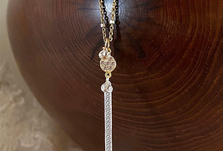 Coin Bar Necklace