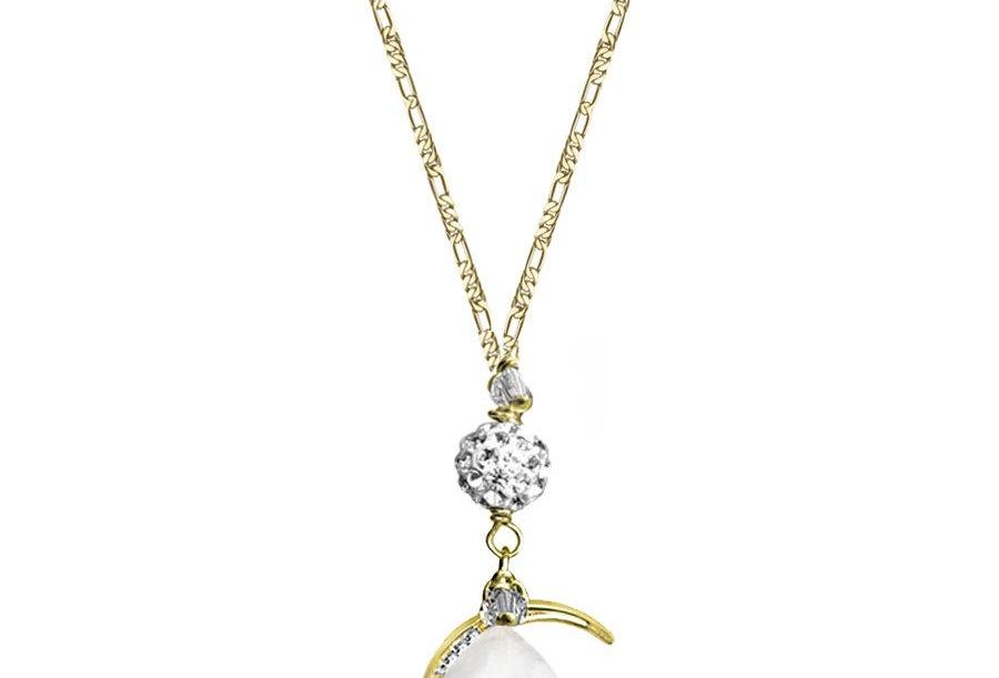 Moonstone - Moon Wish Necklace