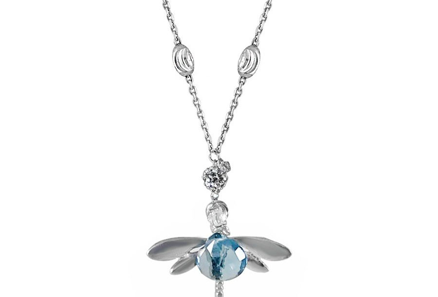 New Beginnings Dragonfly Necklace