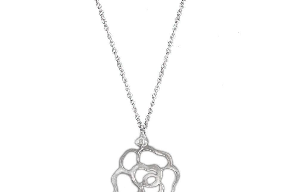 Rose Floral Necklace