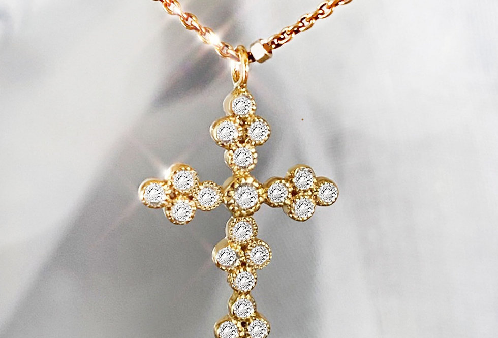 Elegant Cross Necklace