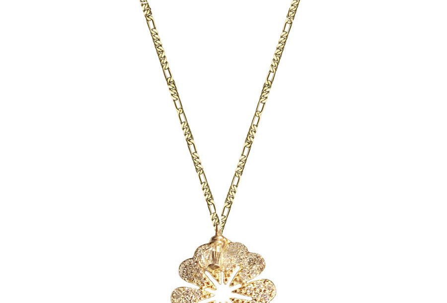 Crystal Floral Necklace