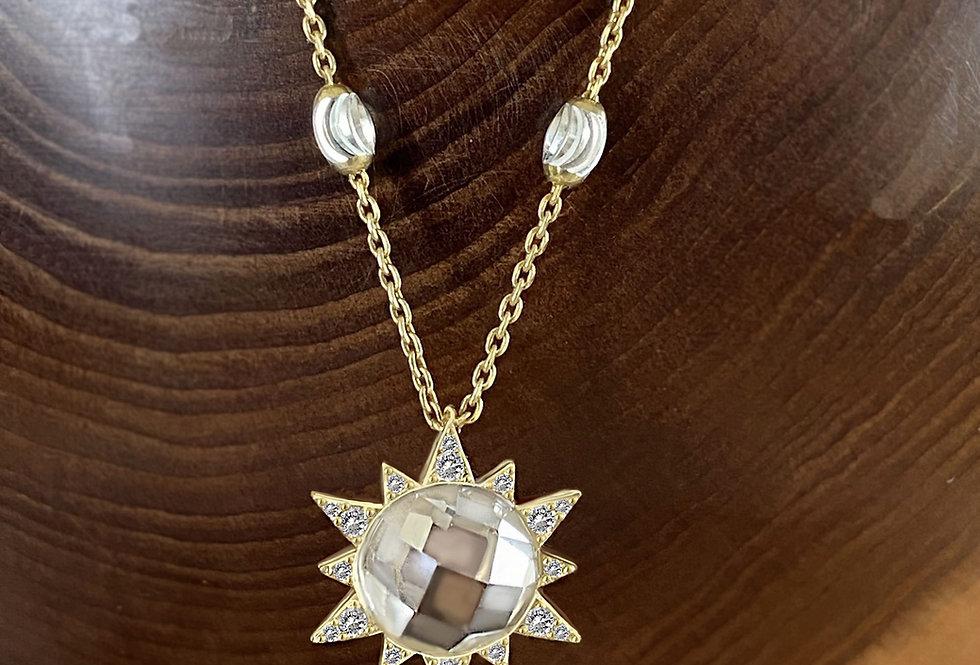 Golden Sun Necklace