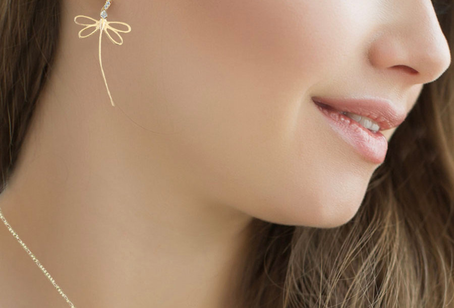 Whisper Dragonfly Earrings
