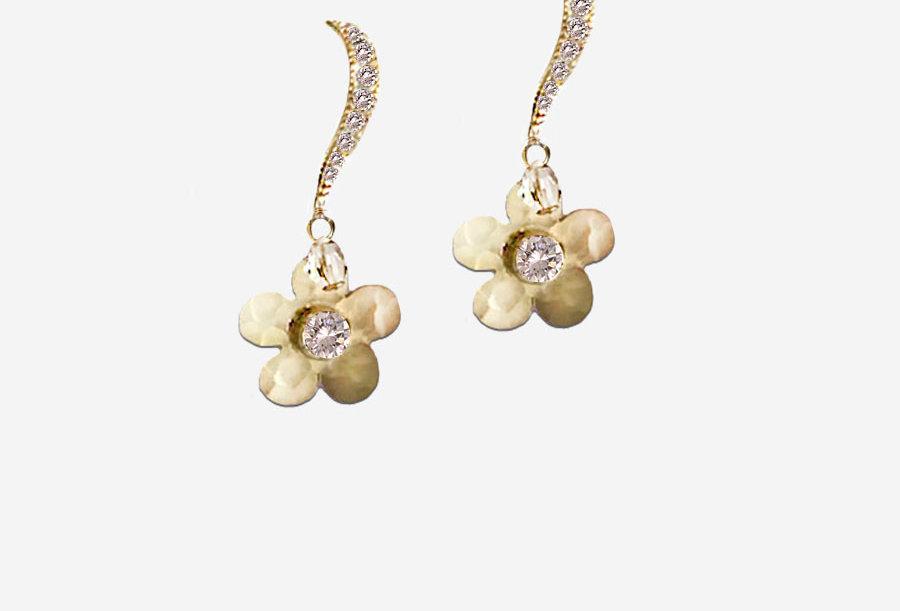 Simple Floral Earrings
