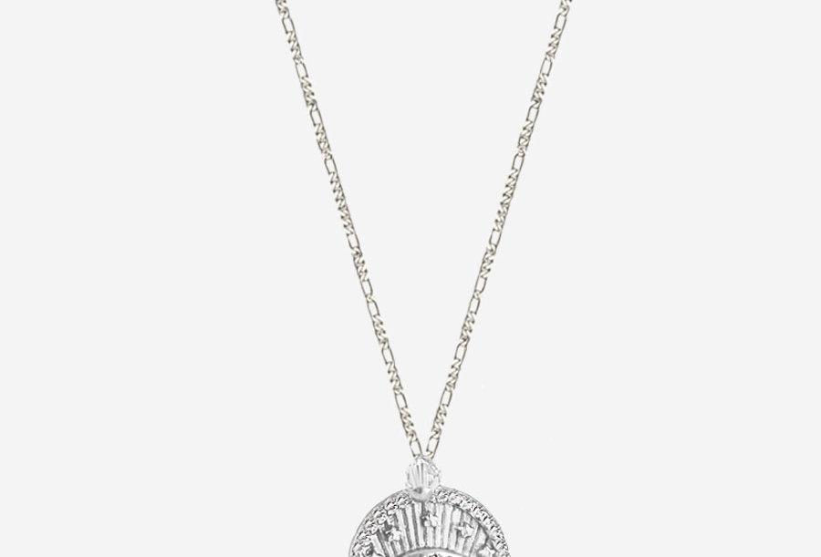 Protection Eye Coin Necklace