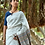 Linen With Kala Cotton Bhujodi saree