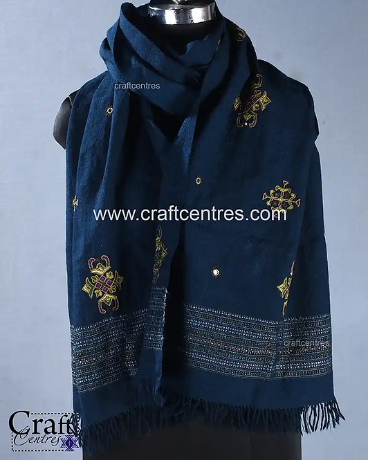 Stoles And Dupattas kala Cotton