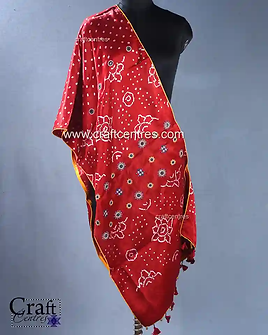 Hand Embroidery Msharu Silk Stoles   121