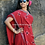 Soof Embroidery On Kala Cotton Bhujodi Saree