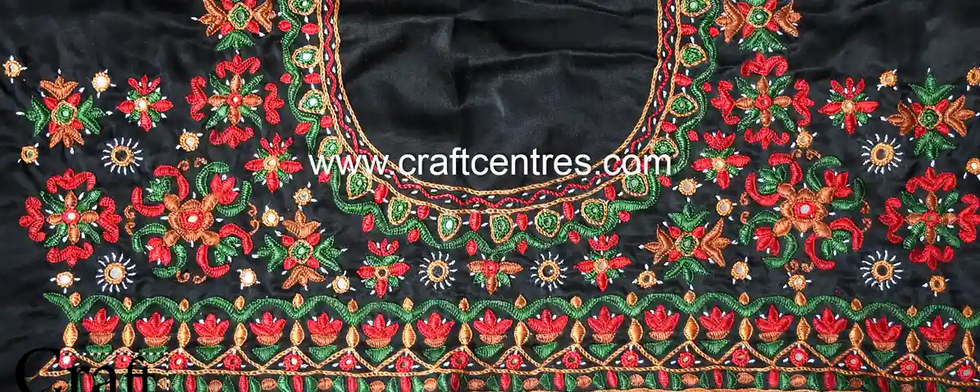 Kutch Embroidery Blouse Piece