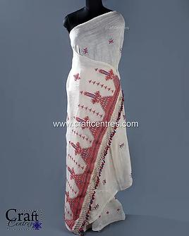 Soof Embroidery Kala Cotton Saree   1120