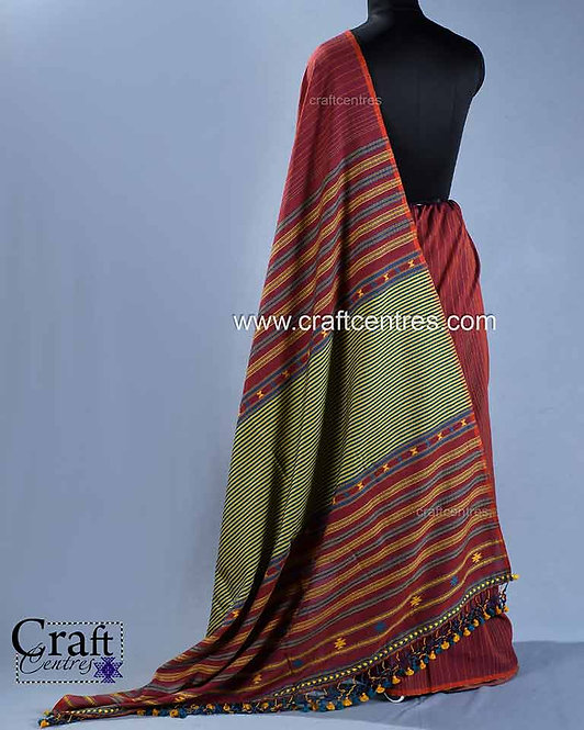 Fine Cotton Bhujodi Saree