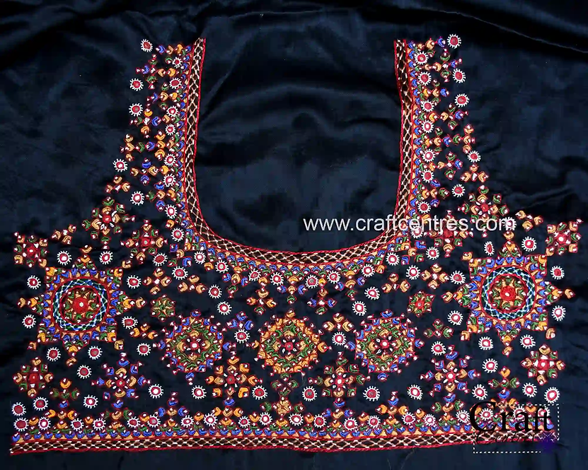 Silk Blouses With Embroidery