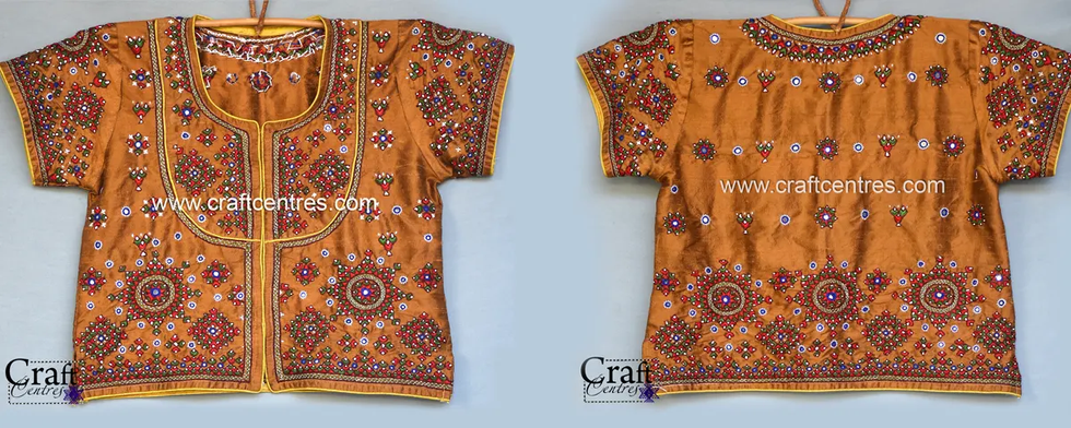 Kutch Embroidery Work Blouse
