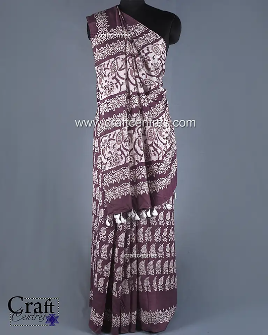 Mulberry Silk Handloom Saree