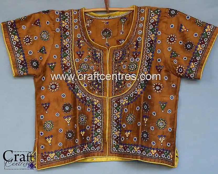 Hand Embroidery Stitched Silk Blouses Online