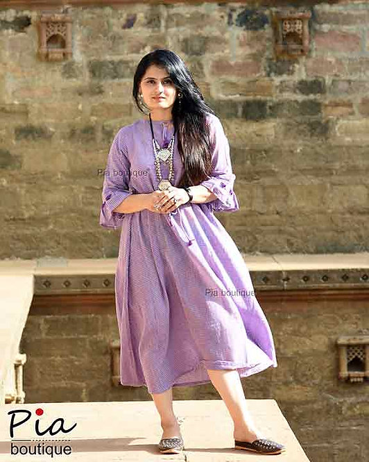 kala cotton one piece handloom Dress