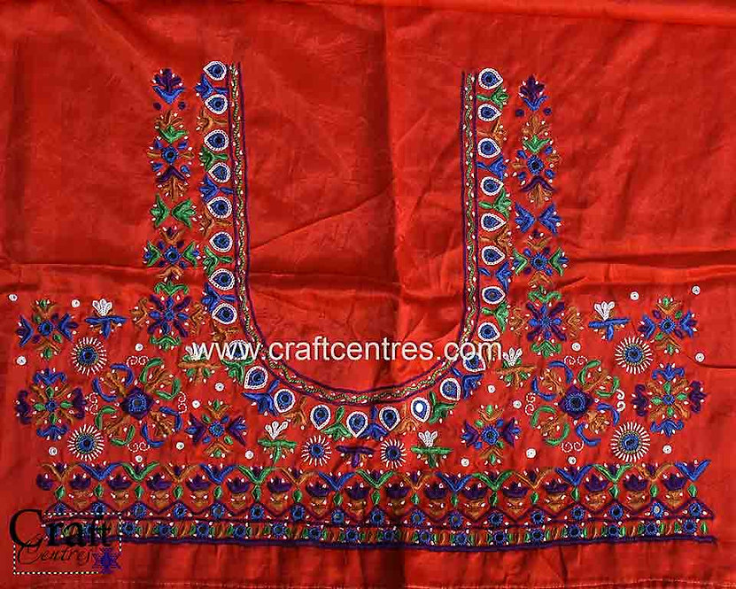 Hand Embroidery Saree Blouse