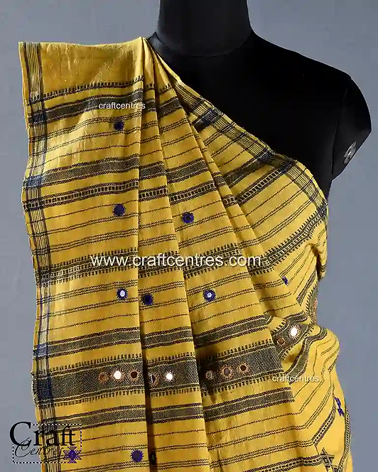 Kala Cotton Handloom Bhujodi Saree