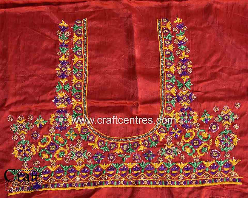 Kutch Work Blouse Piece