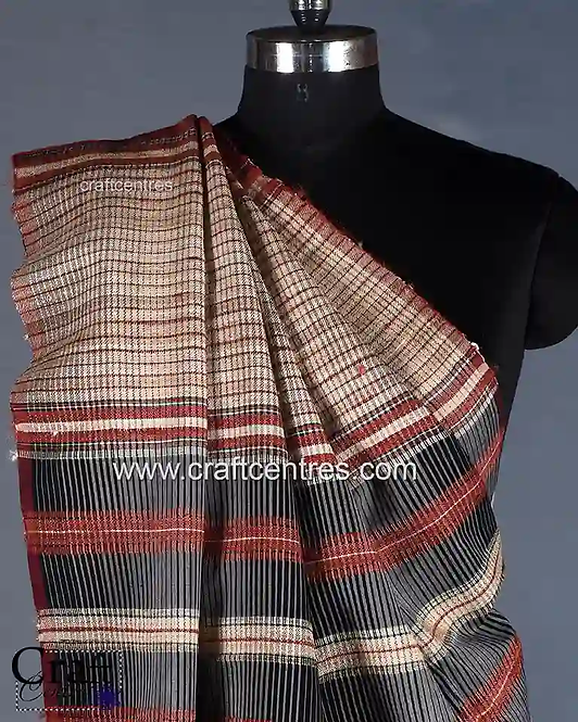 Bhujodi Tussar Silk Saree