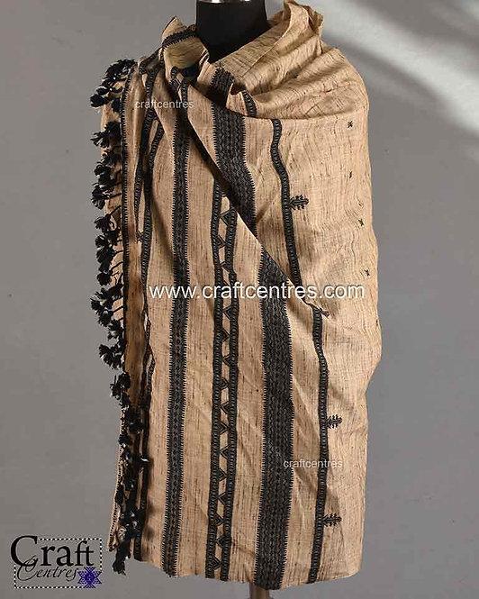 Tussar Silk Shawl