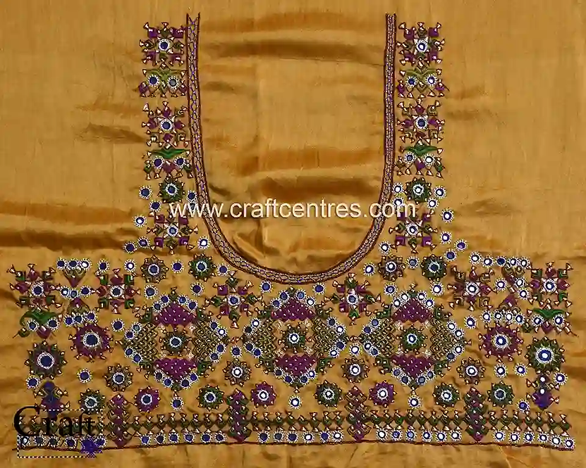 Unstitched Embroidery Blouse