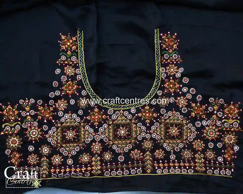 Tussar silk saree Blouse