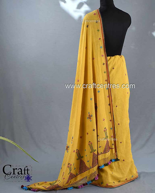 Soof Embroidery Saree Online