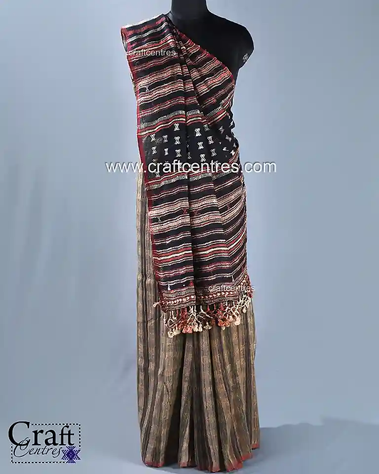 Tussar Bhujodi Handloom Saree