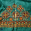 kutchi embroidery on silk blouses