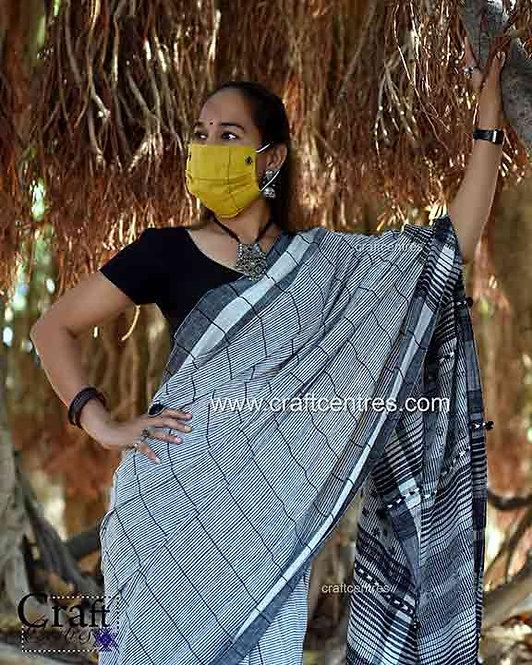 Bhujodi Saree Kala Cotton