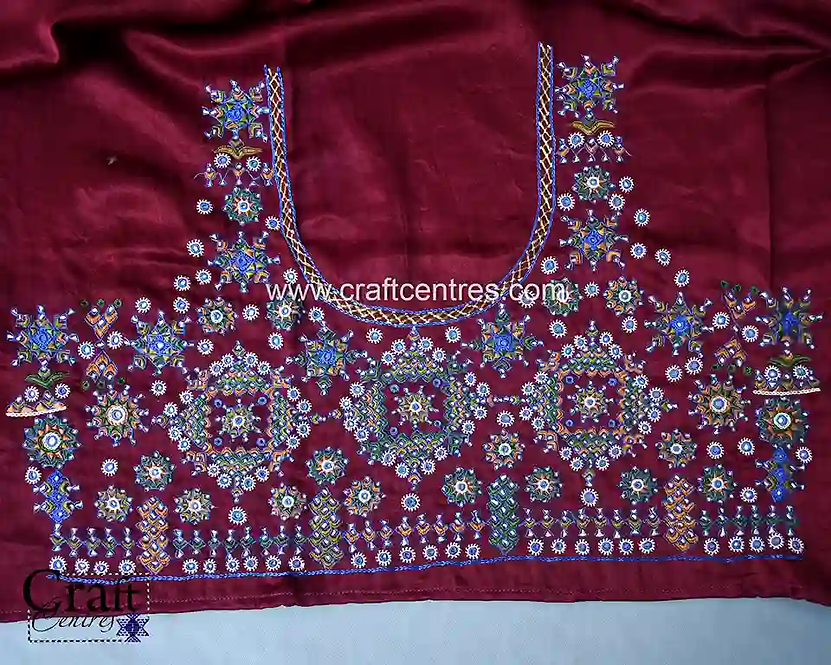 Kutch Work Embroidery Blouses
