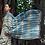 Organic Cotton Natural Dyes Indigo Saree With Blouse