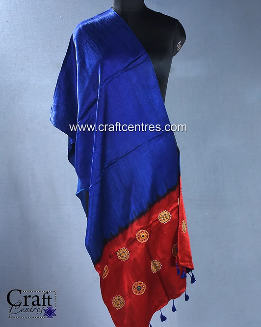 embroidery Kutchi Stoles