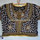 Stitched Silk Black blouse With Kutch Work