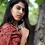 Silk Ajrakh Saree