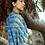 Kala Cotton Indigo Dyes Bhujodi Handloom Saree