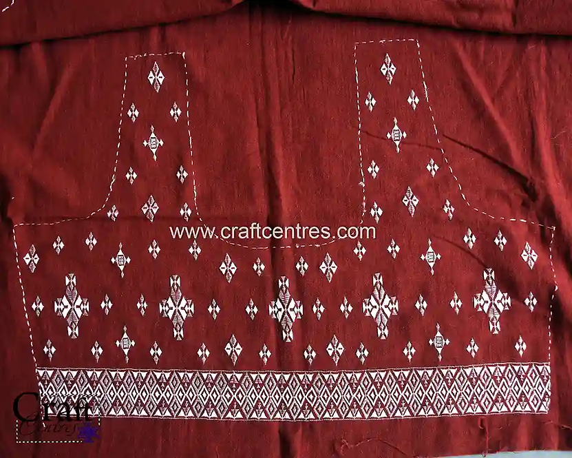 Bharat Work On Blouse Piece