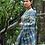 Indigo Saree With Free Blouse Piece