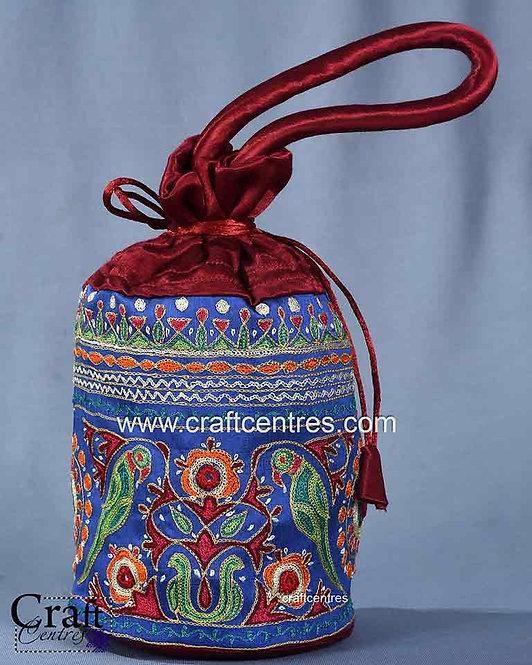 Embroidery Potli Bag     chb079