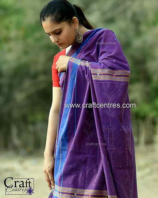 Tangalia weaving cotton handloom saree