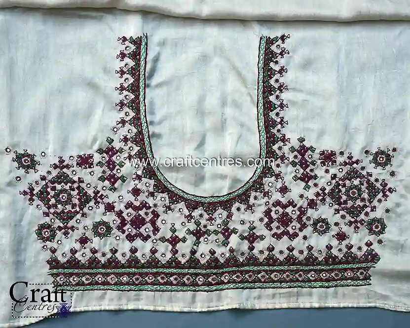 Kala Cotton Blouse With Embroidery