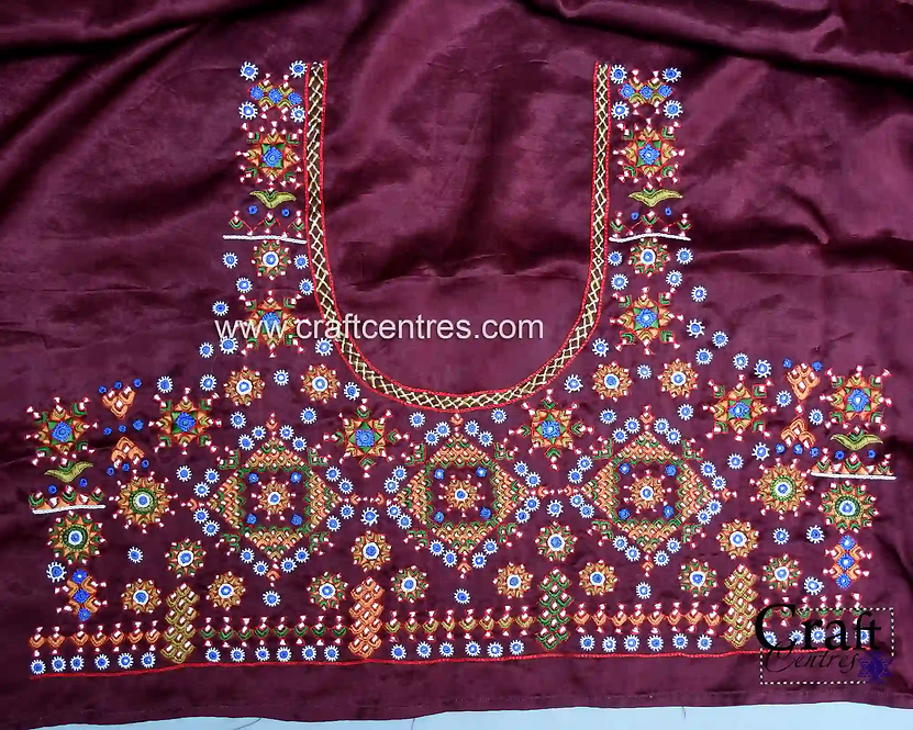 Blouses With Kutchi Embroidery