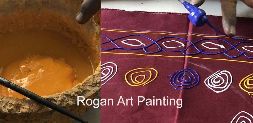 Rogan Art Painting Gujarat