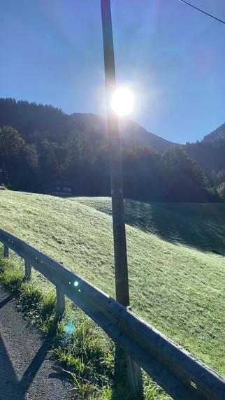 Bergpanorama rund um das Ferienhaus Sottung