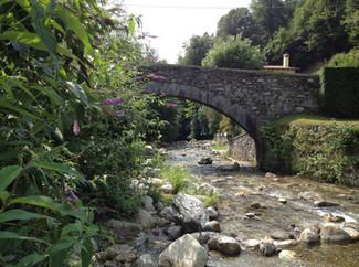 Der wunderschöne Fluss Sanagra