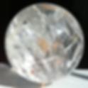 Kugel aus Bergkristall