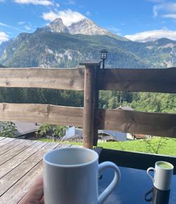 Kaffeetrinken an einem der wunderschönen Orte dieser Welt!